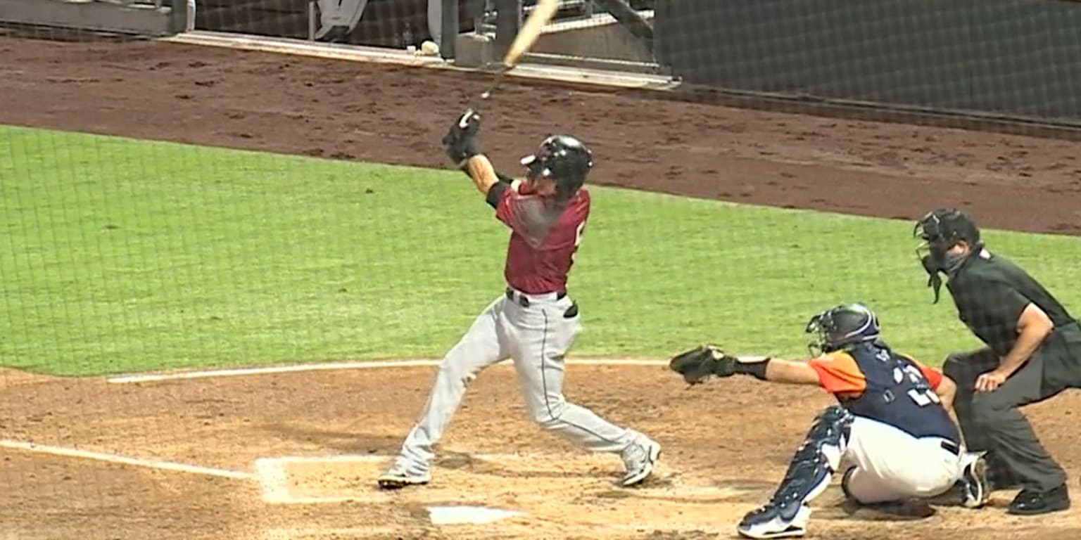 <p>Back in Activity, Drew Robinson gets his 1st hit thumbnail