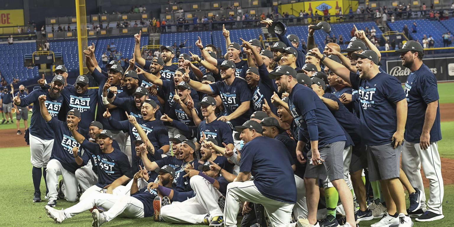 Clinched! Rays seal 2nd straight AL East title thumbnail