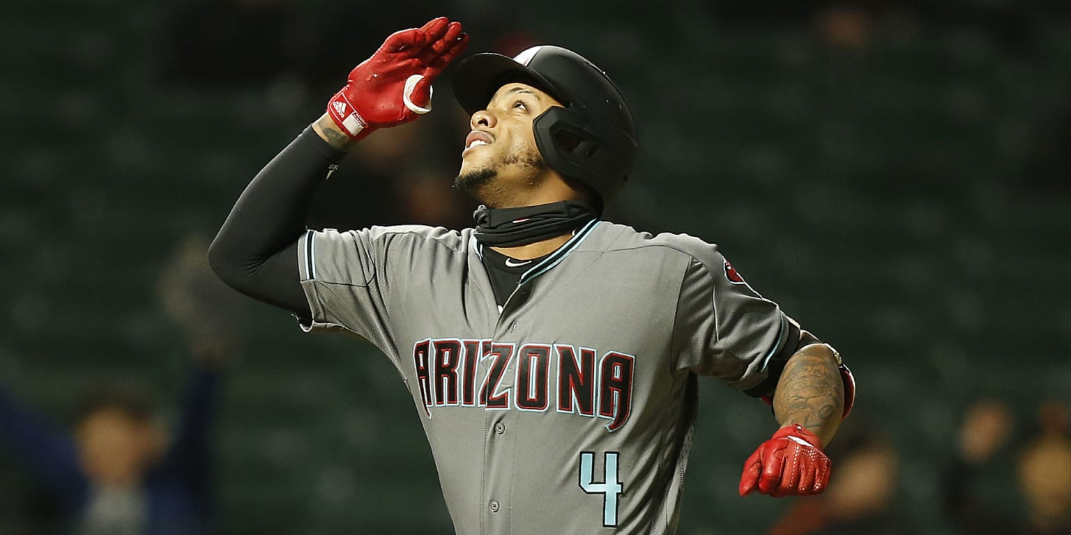 D-backs ride 4 homers to record rout of Giants