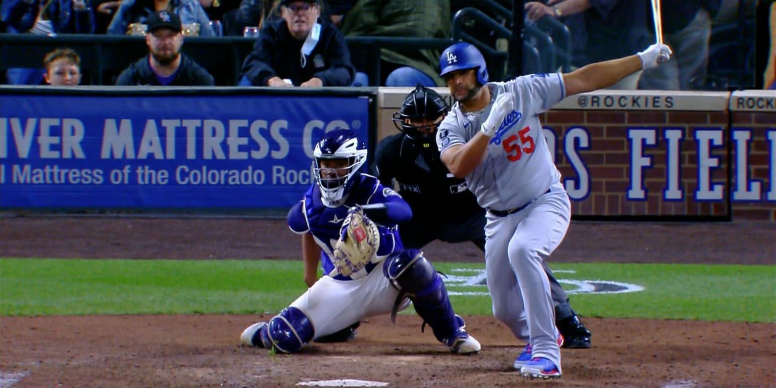 Dodgers se imponen con hit clave de Pujols