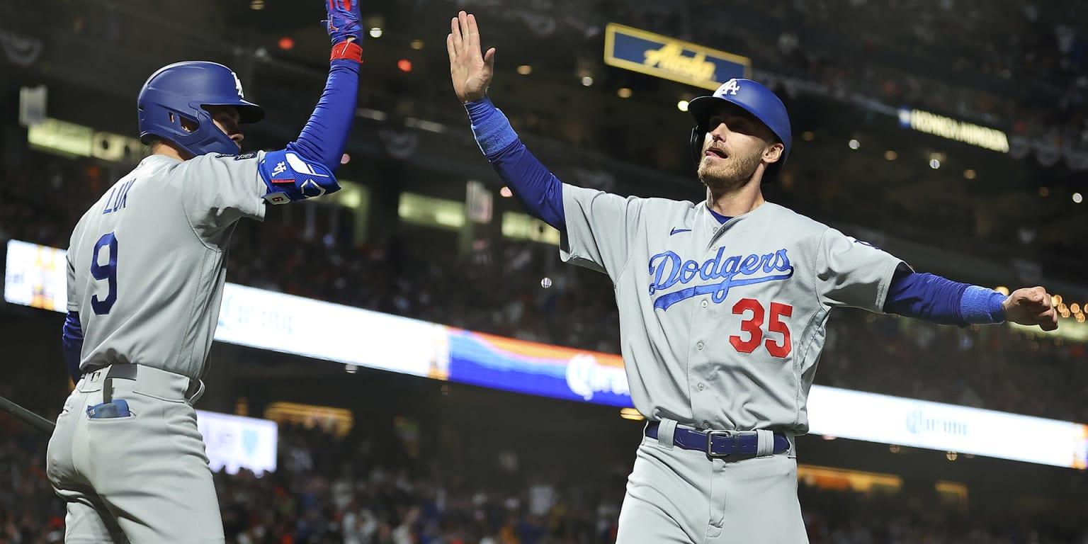 Belli brings LA bats to life in Game 2 win thumbnail