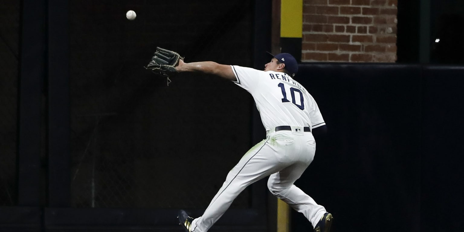 Renfroe's arm one of SD's strongest ever in OF