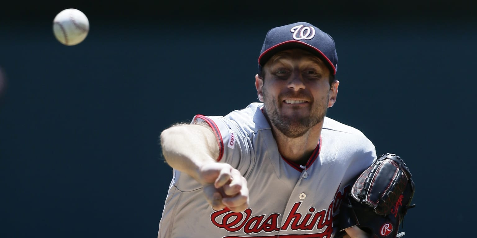 Scherzer placed on injured list with back strain