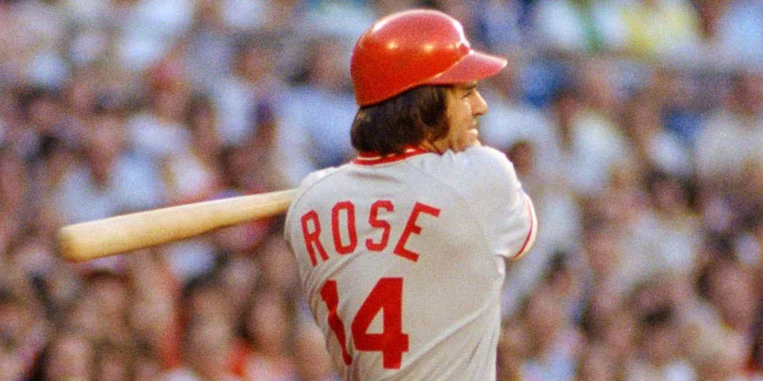 Pete Rose 44-game hitting streak 1978