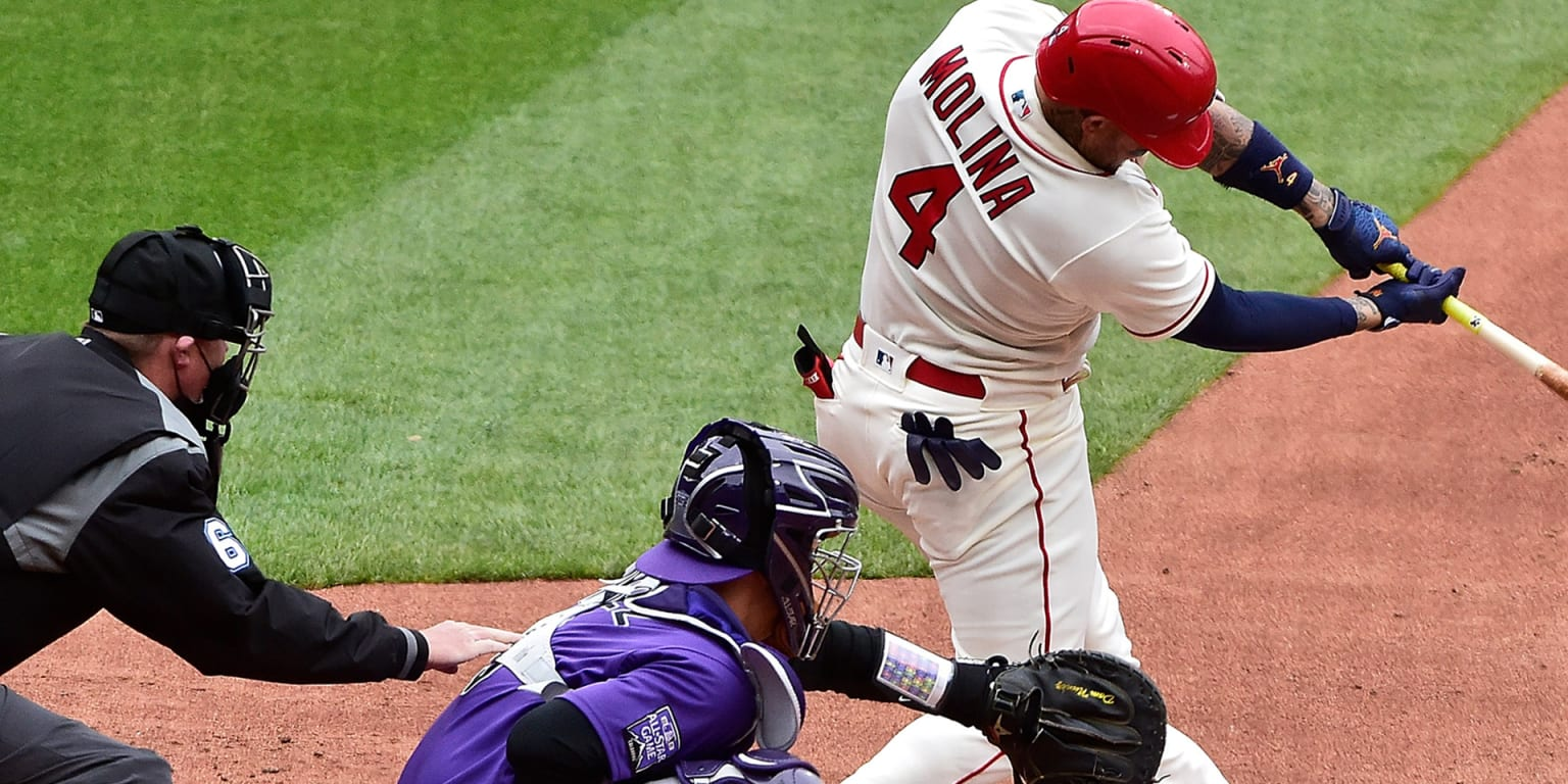 Cards' 'A' lineup mashes to defeat Rockies