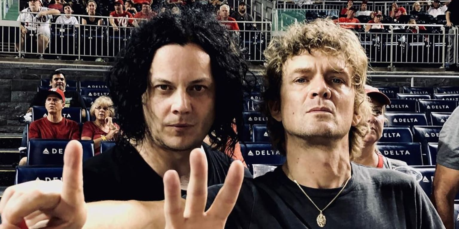 Jack White and Raconteurs play gig and go to Nats game