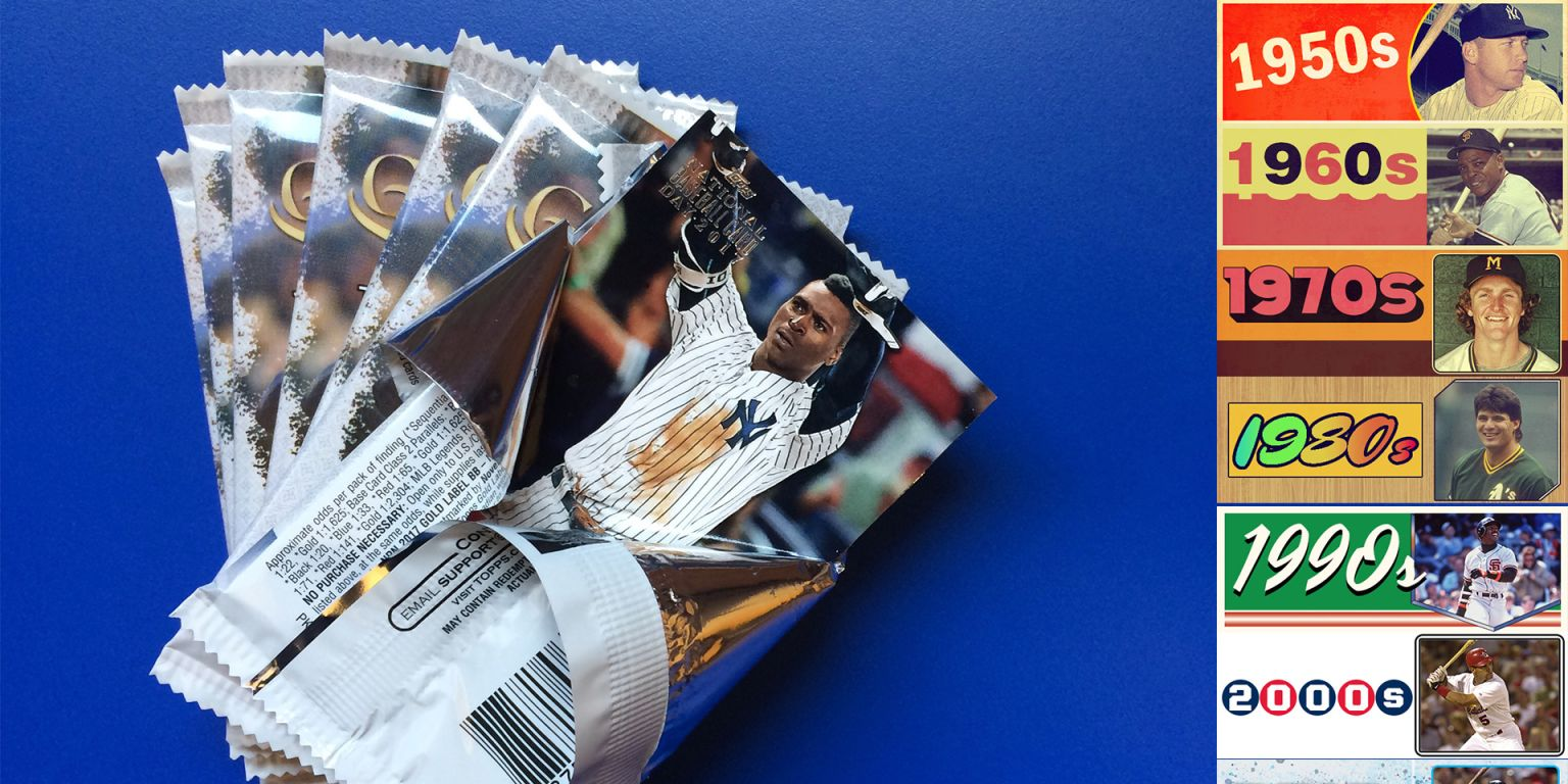 The single best Topps baseball card from every year: 1951-2018