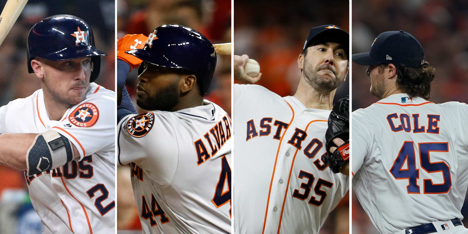 Can Astros be 1st to sweep MVP, Cy and ROY?