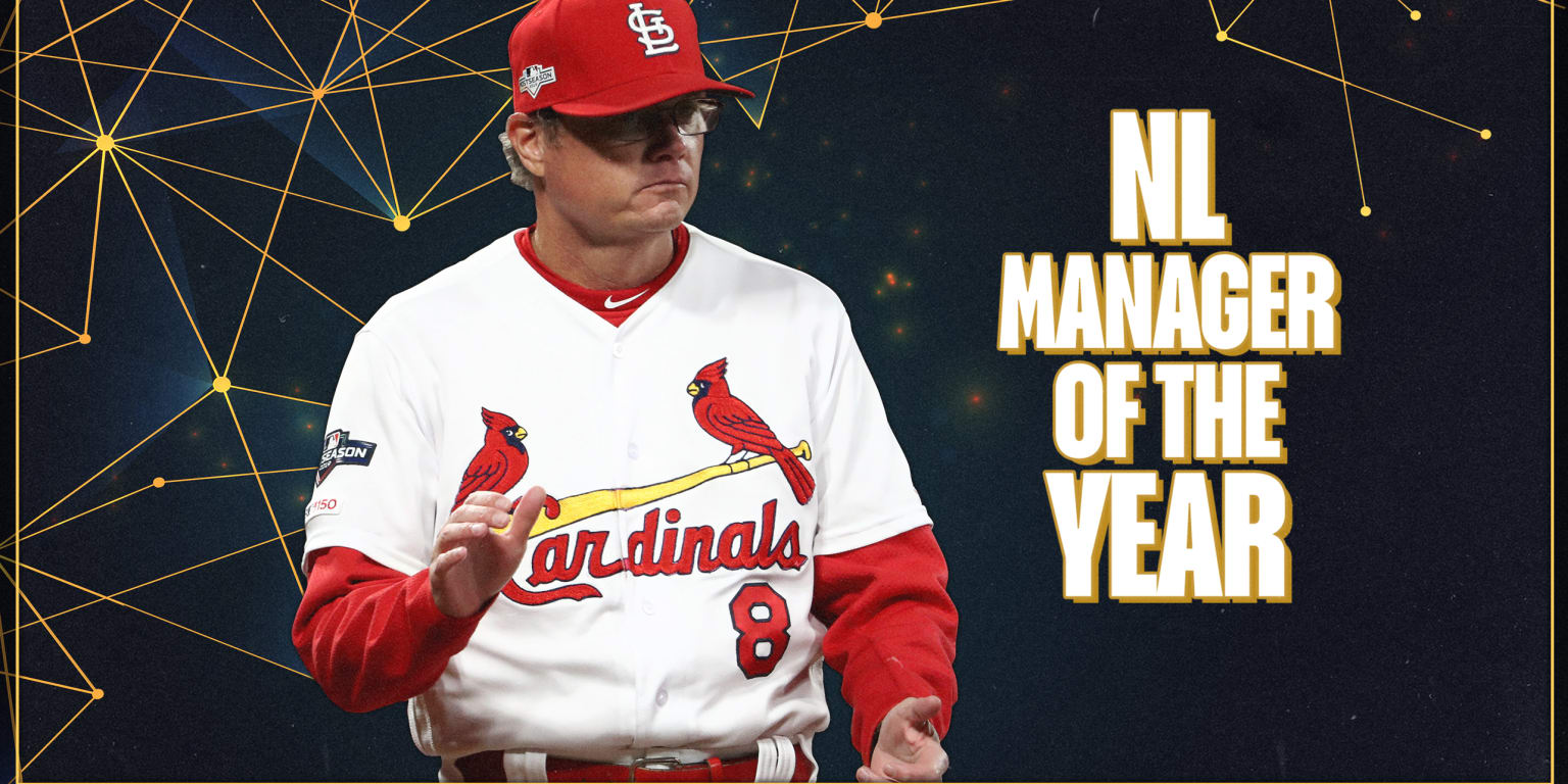 Shildt takes home NL Manager of Year Award