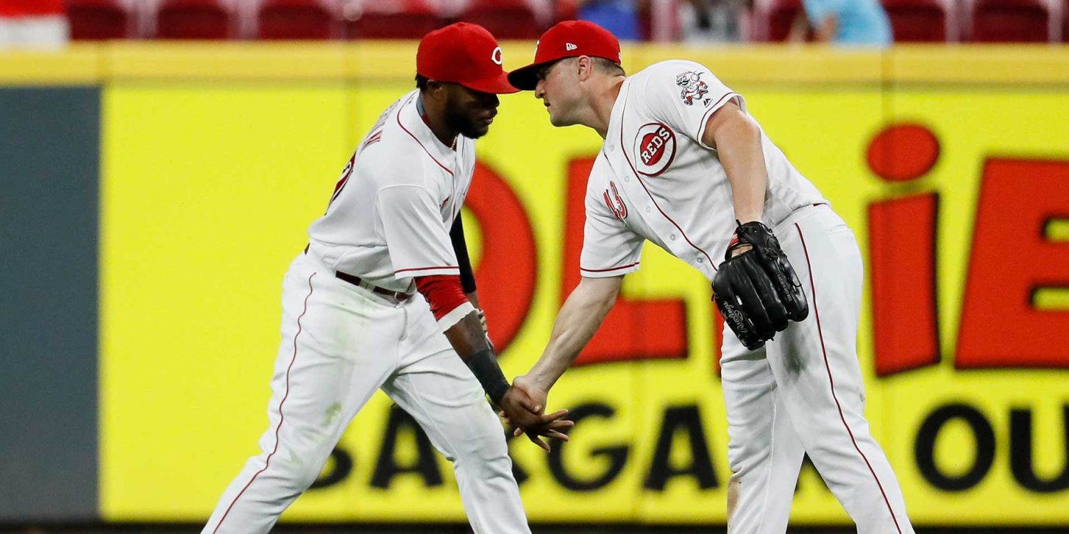 Why are Reds looking for true center fielder?