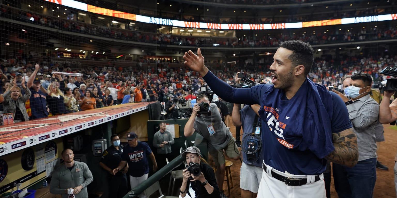 Astros amarran el título del Oeste de la L.A.