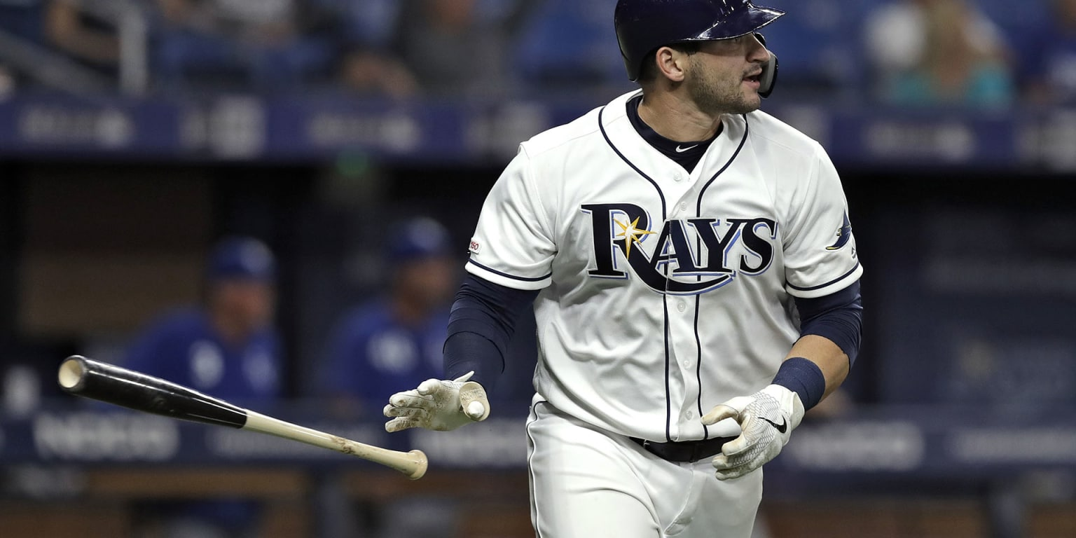 Mike Zunino hits year's 1st homer after son's birth