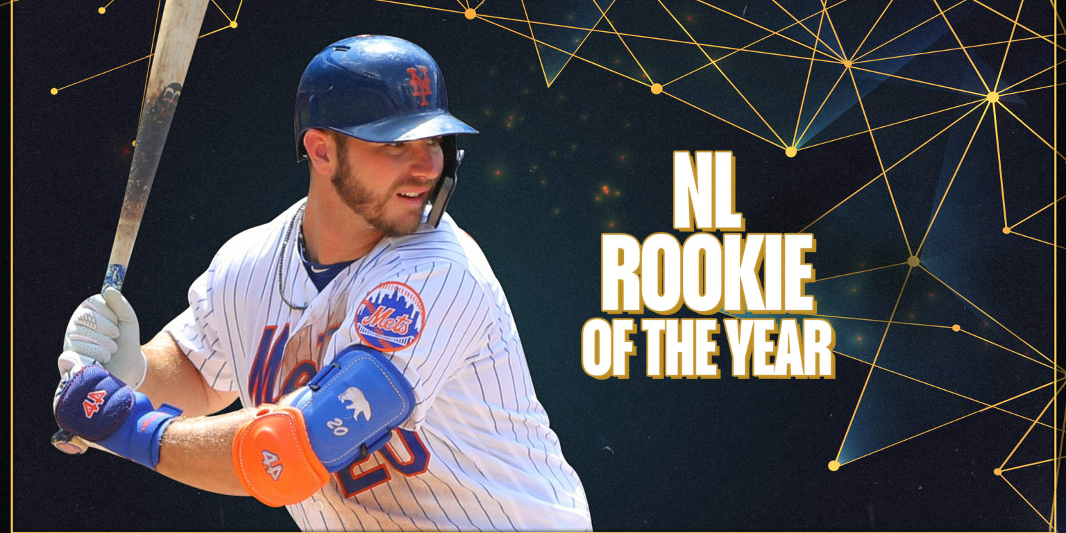 Alonso runs away with NL Rookie of the Year