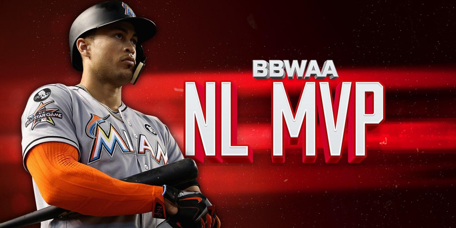Marlins' Giancarlo Stanton wins NL MVP Award | MLB com