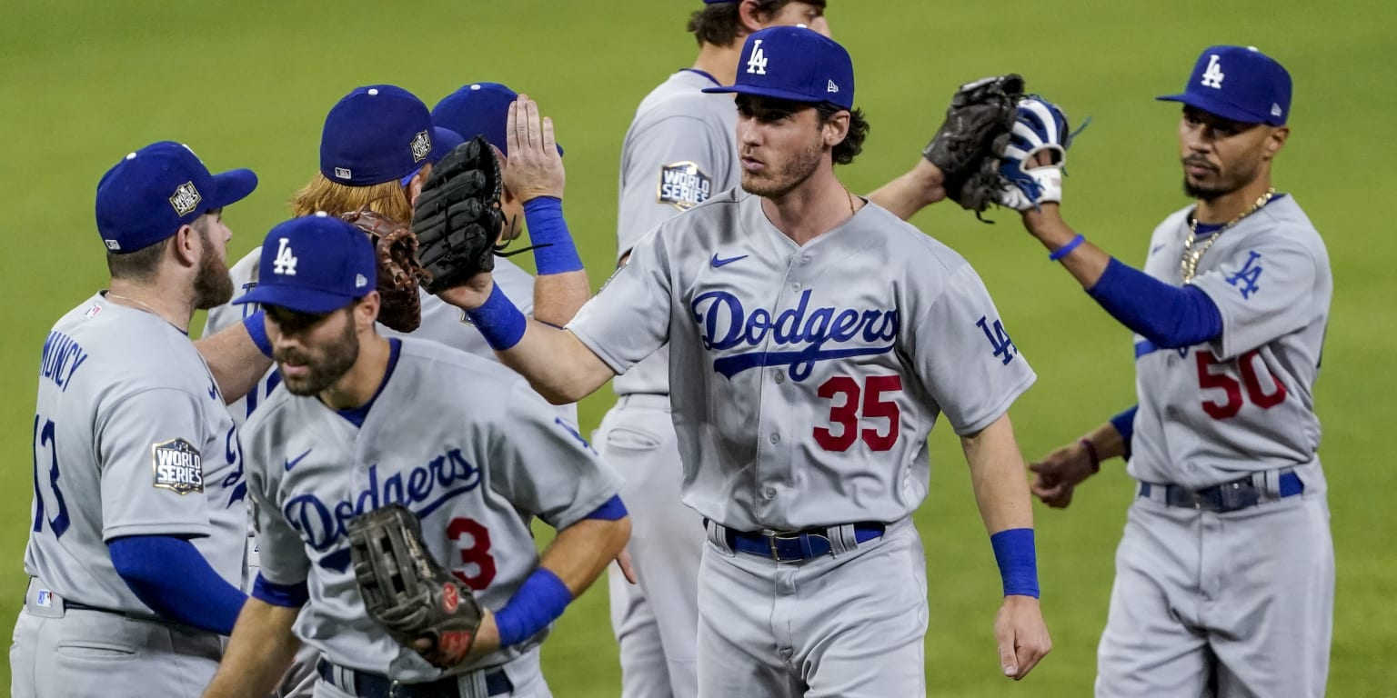 Knocked down, Dodgers get back up again