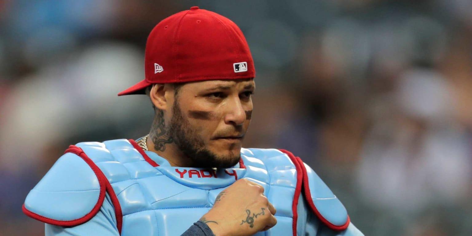 Yadier Molina nearing end of thumb injury rehab | St  Louis
