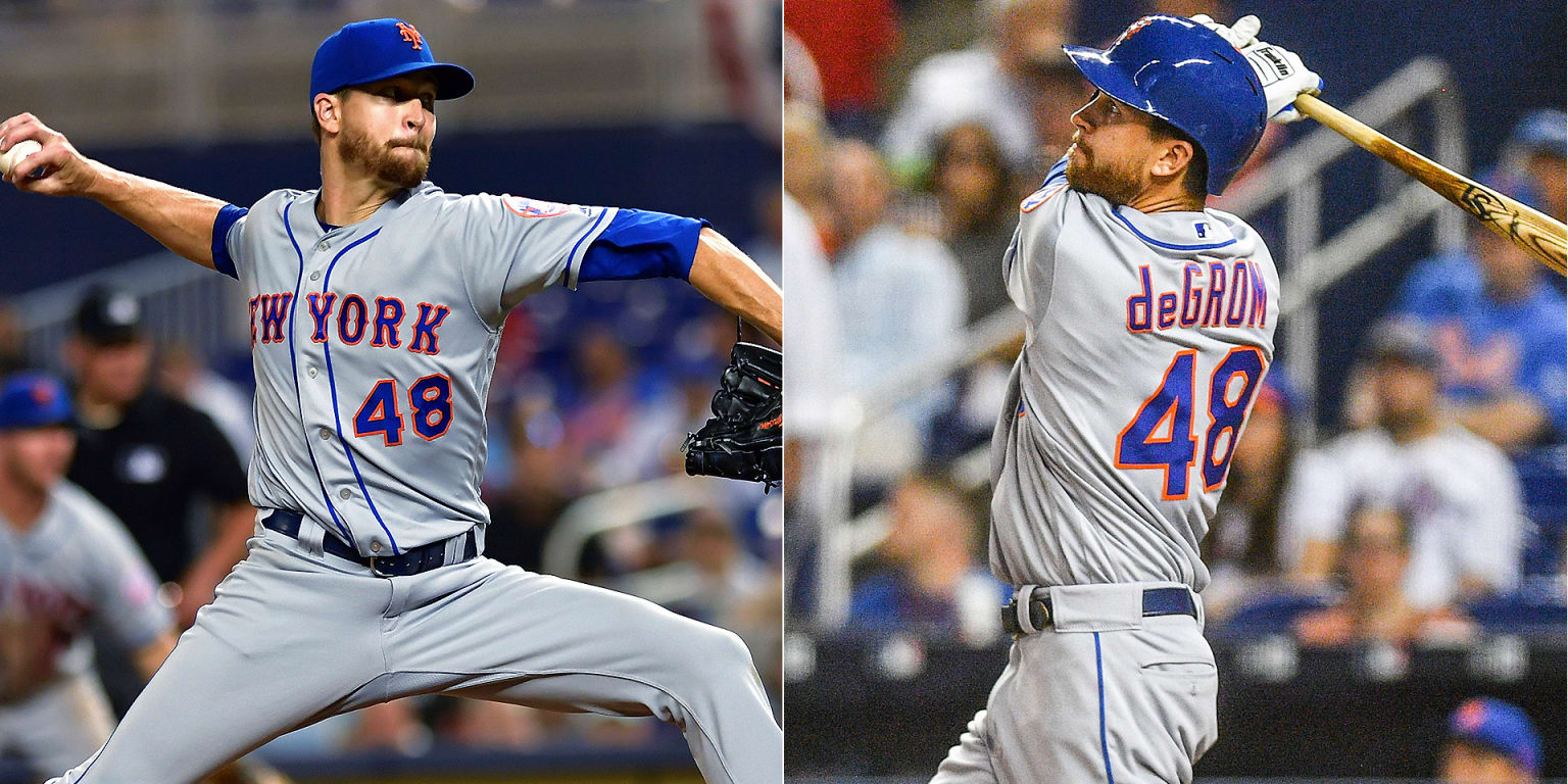 deGrom ties Bob Gibson's record ... and homers