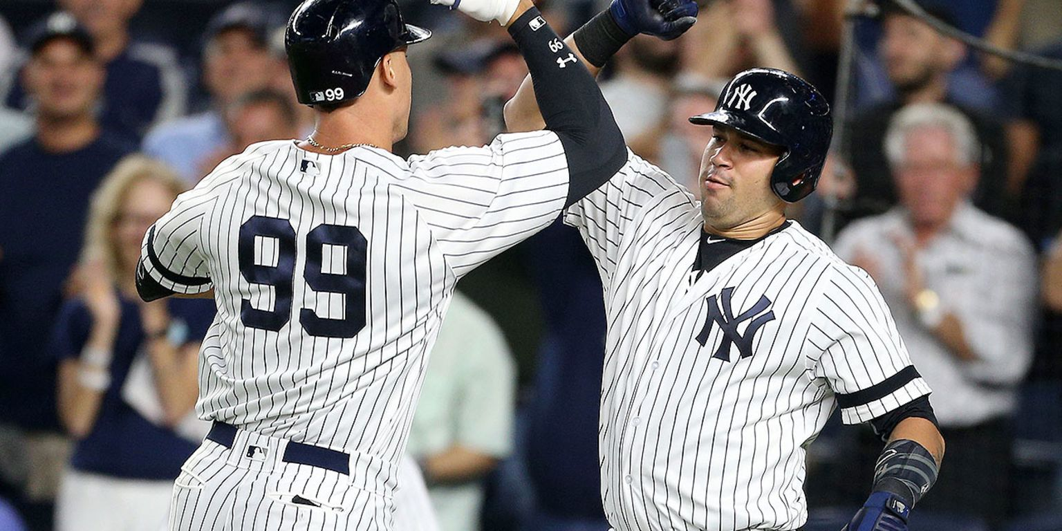 Judge homers, Yanks top Twins on 5-out save