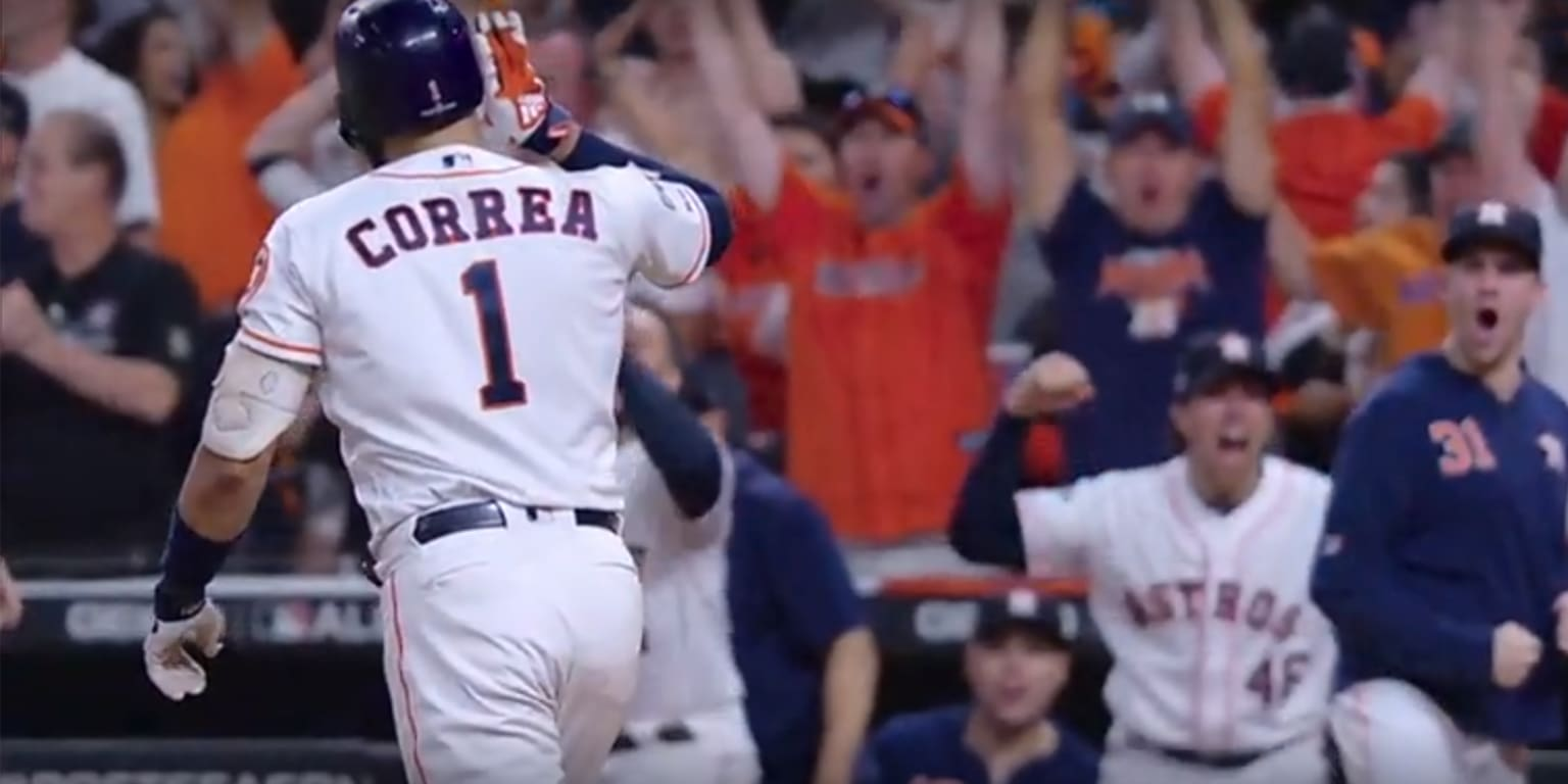 Correa's walk-off homer in 11th evens ALCS