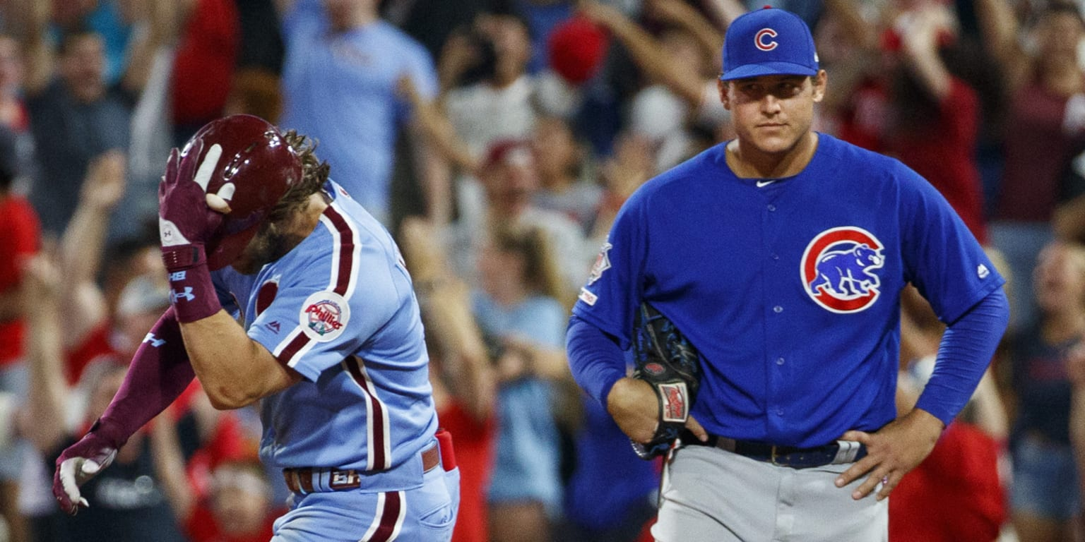 Cubs stunned by Phils, swept on walk-off slam