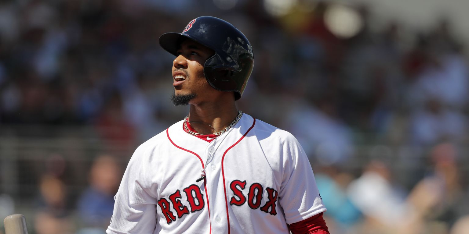 Chris Sale Mookie Betts contract extensions