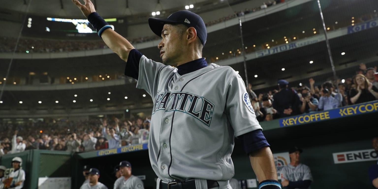 Ichiro Announces Retirement After Emotional Finale Mlbcom