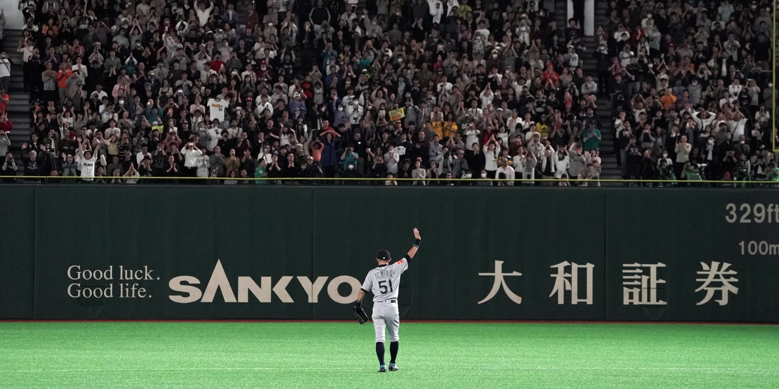 Is Ichiro the most beloved player in baseball history?
