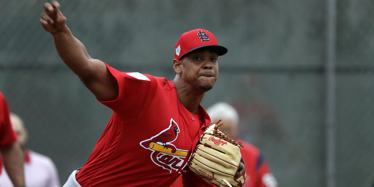 Cards eagerly await Alex Reyes' return to mound