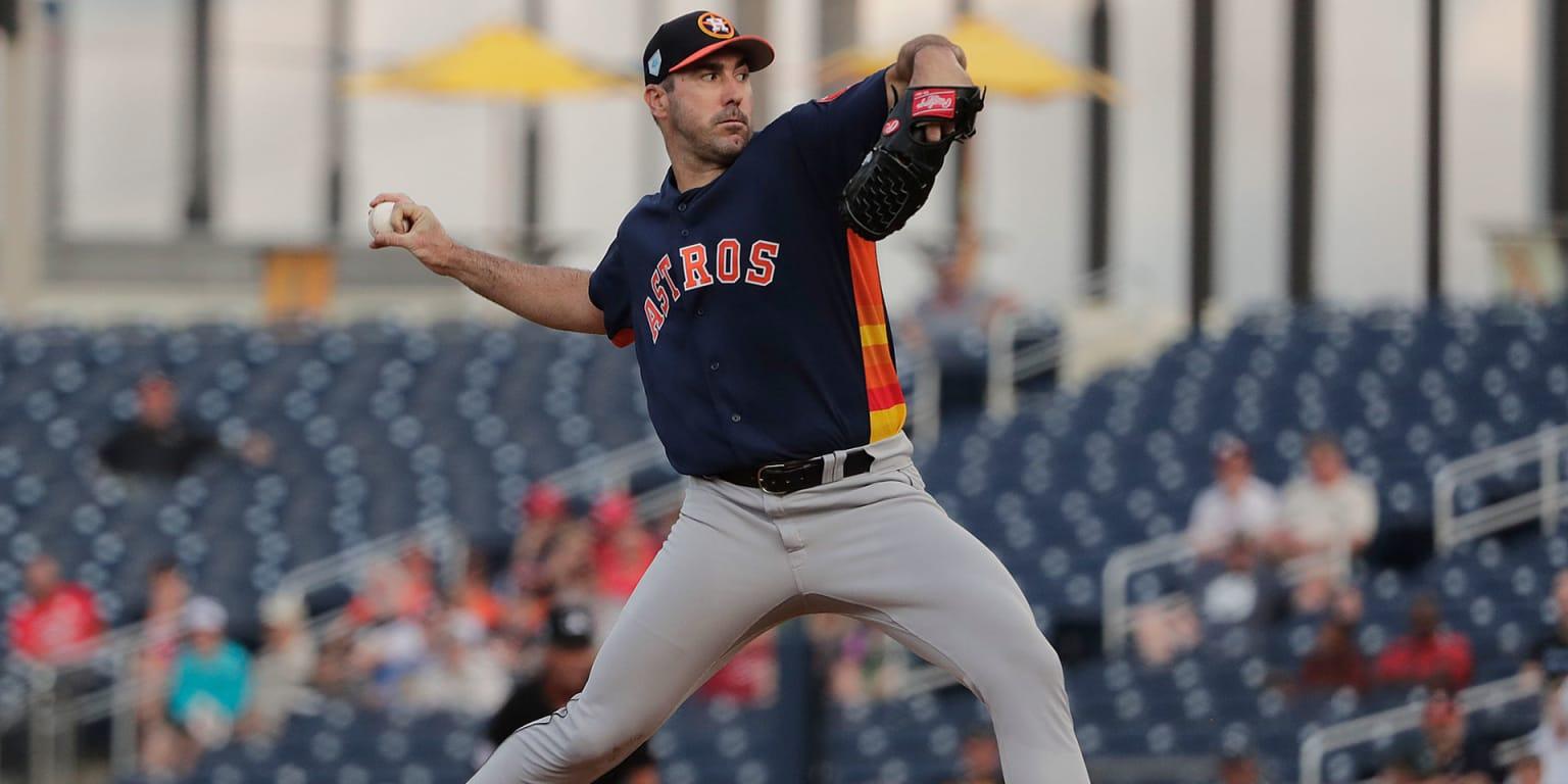 Justin Verlander Astros extension