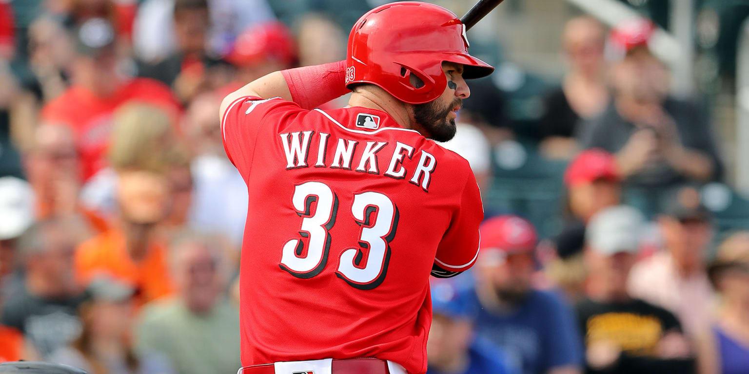 Jesse Winker to be Reds' backup center fielder