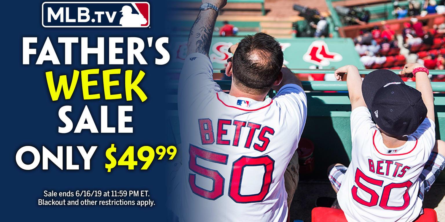 MLB TV Father's Day sale 50 percent off | MLB com