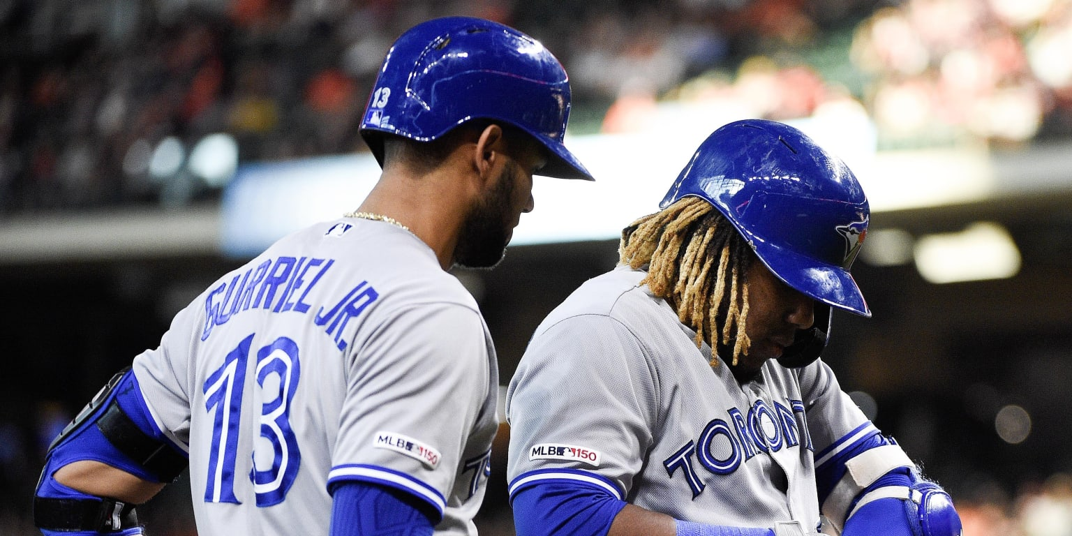 Vlad Jr. out of lineup, but should return soon