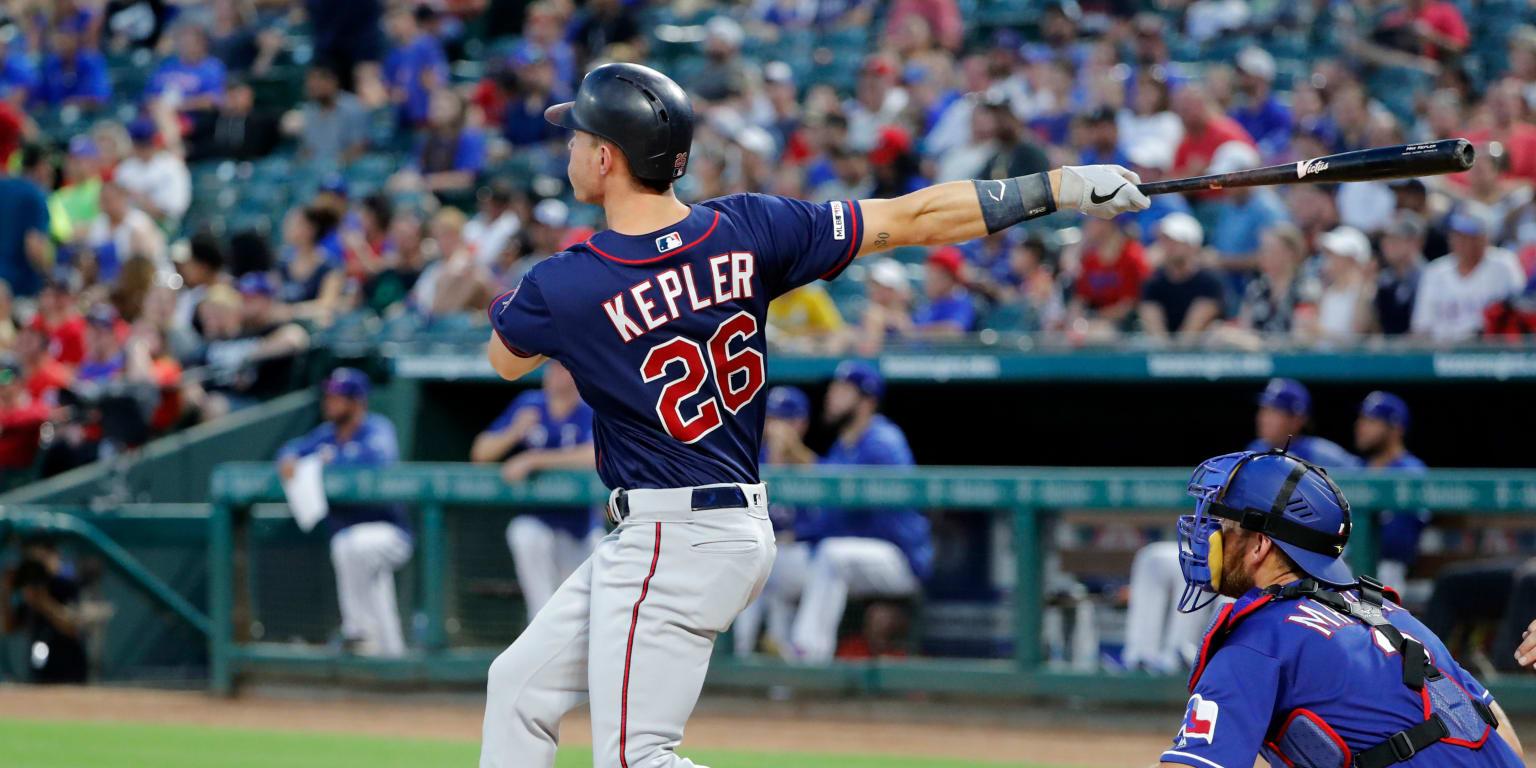 8d0059ad Max Kepler sets European-born home run record | MLB.com