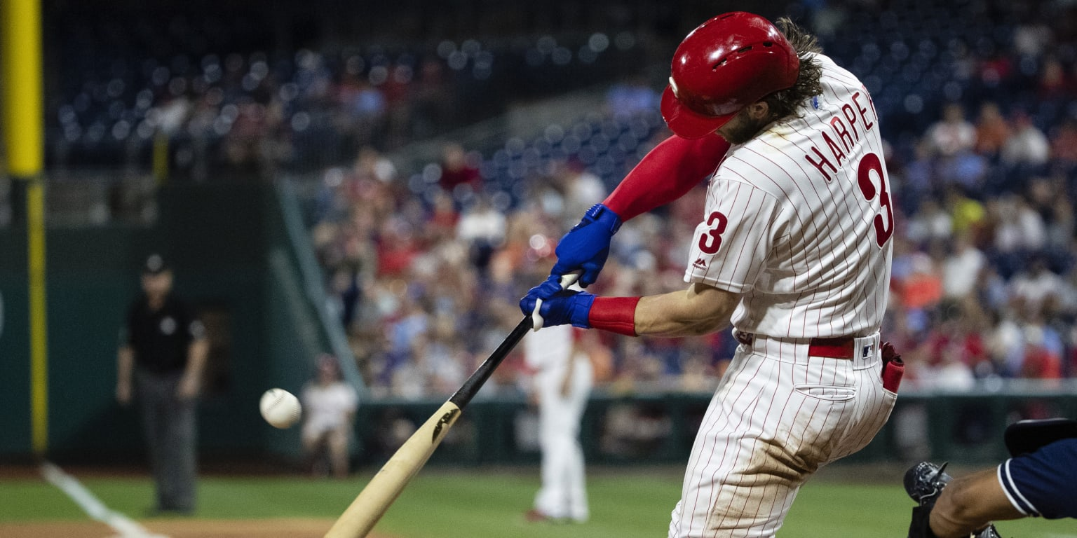 Less dramatic, but Harper continues homer tear