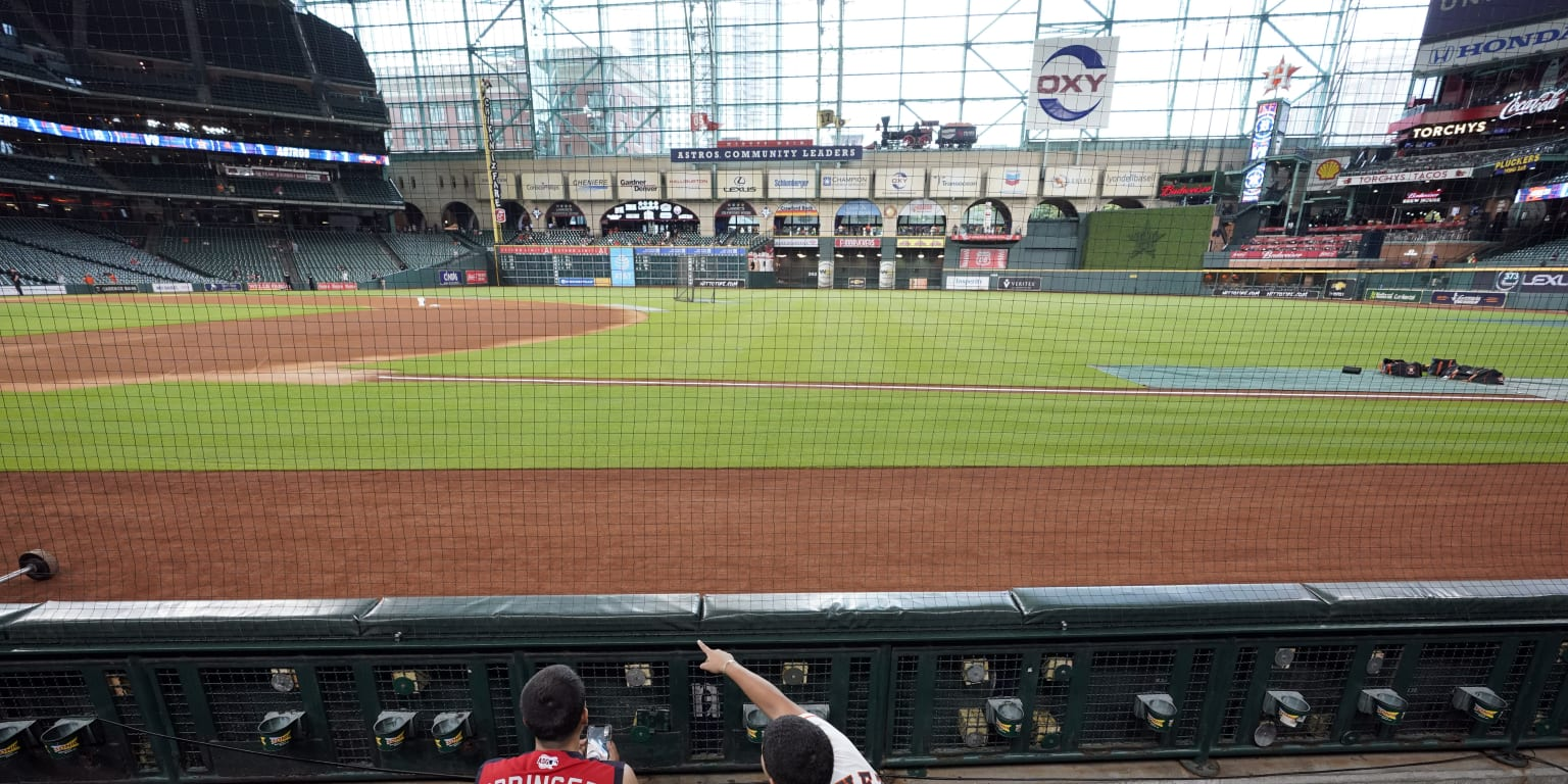 Astros enhance fan safety with extended netting