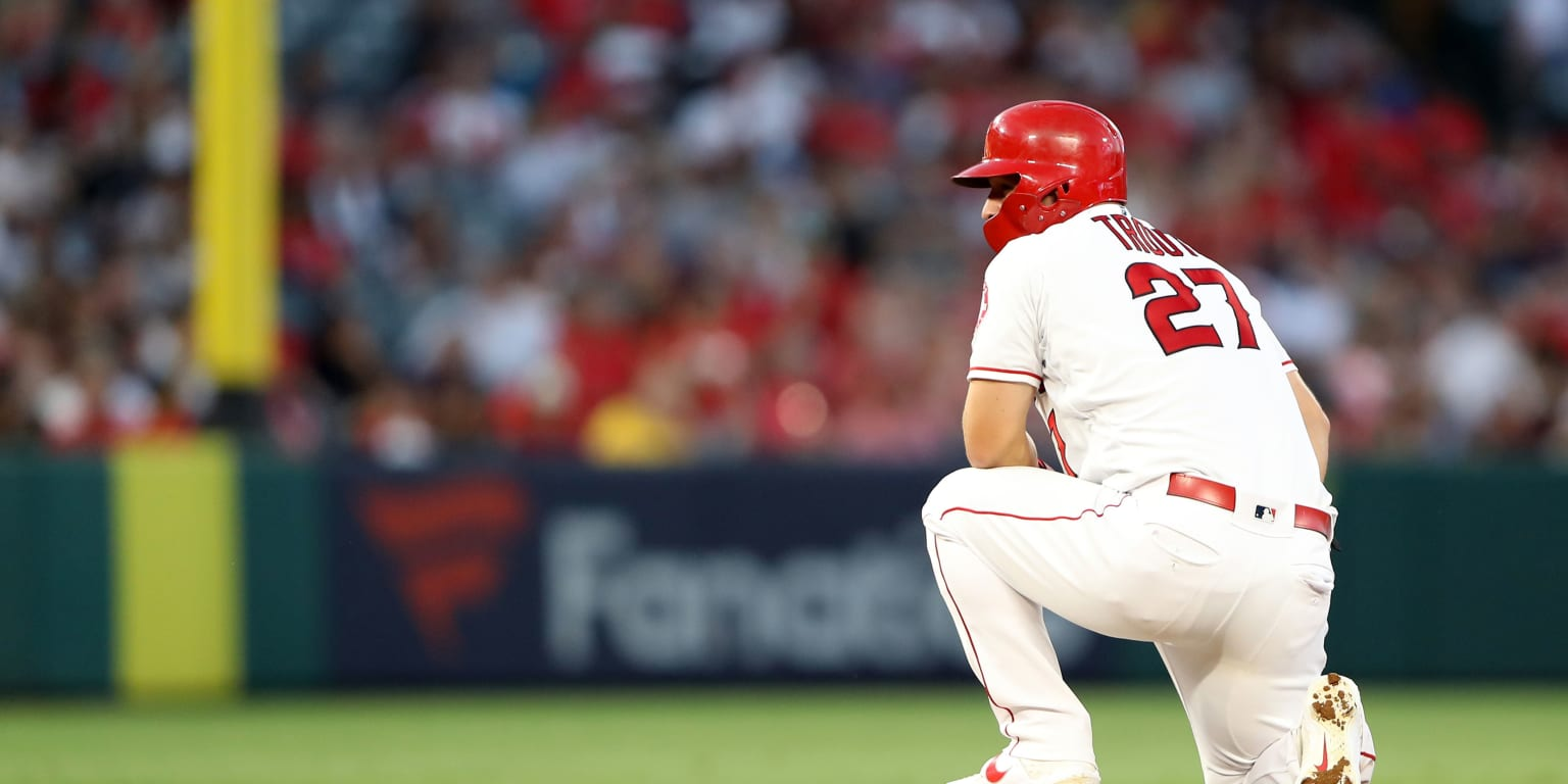 Trout becomes youngest to join 200-200 club