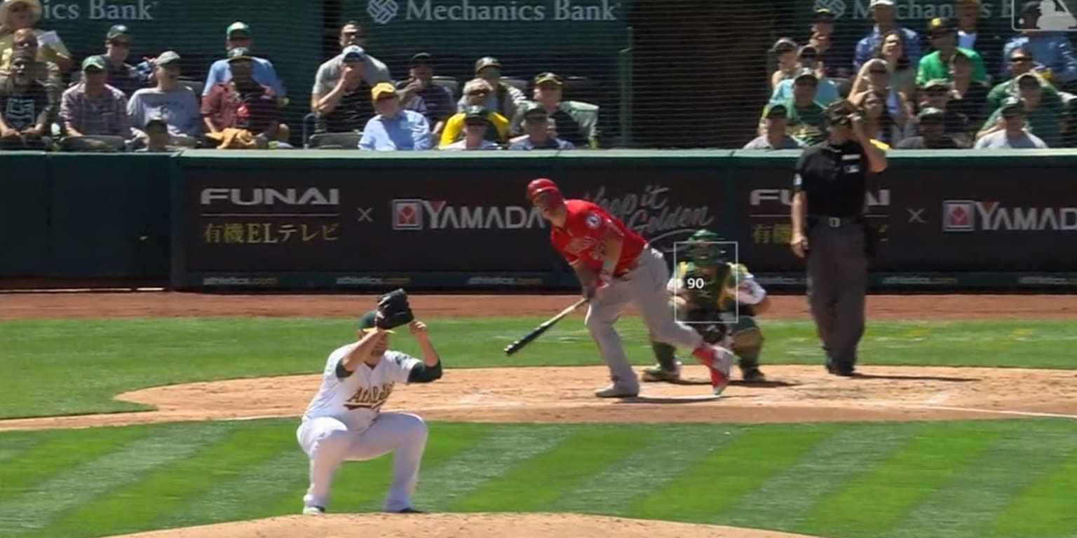 Mike Trout hits mammoth home run