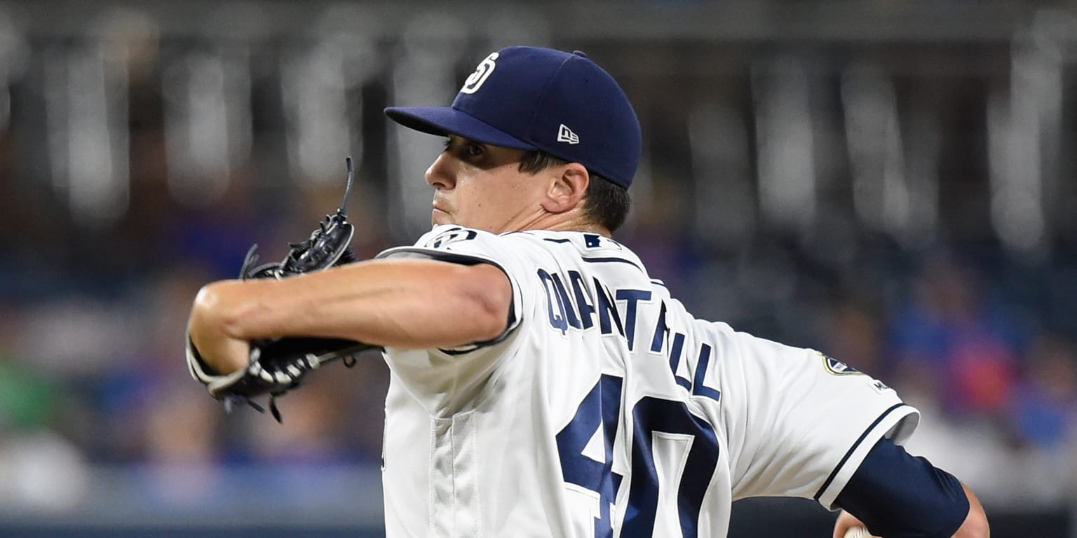 Quantrill shut down for remainder of season