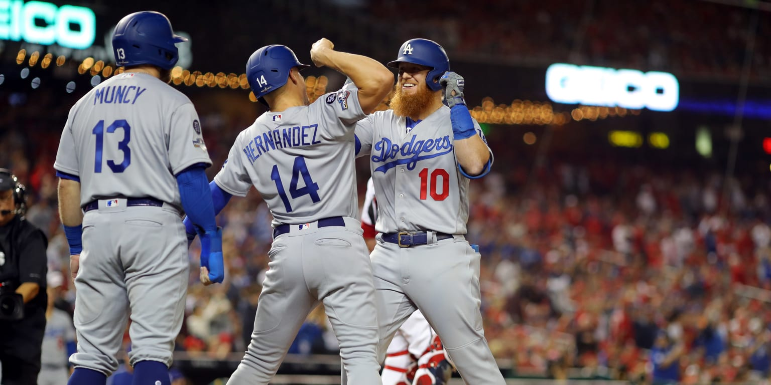 Dodgers poised to advance after bats come alive