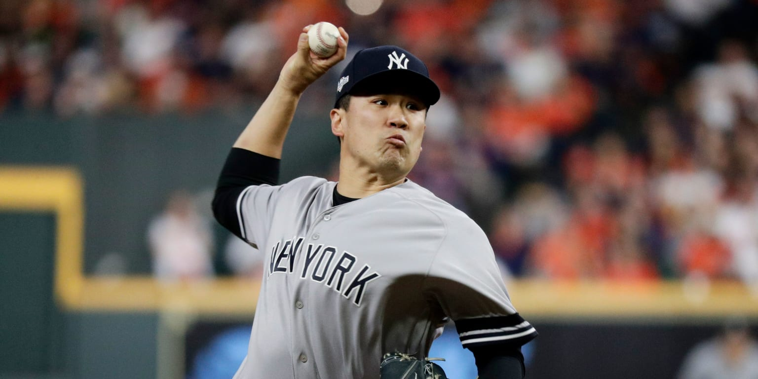 Tanaka building October resume that rivals Mo's