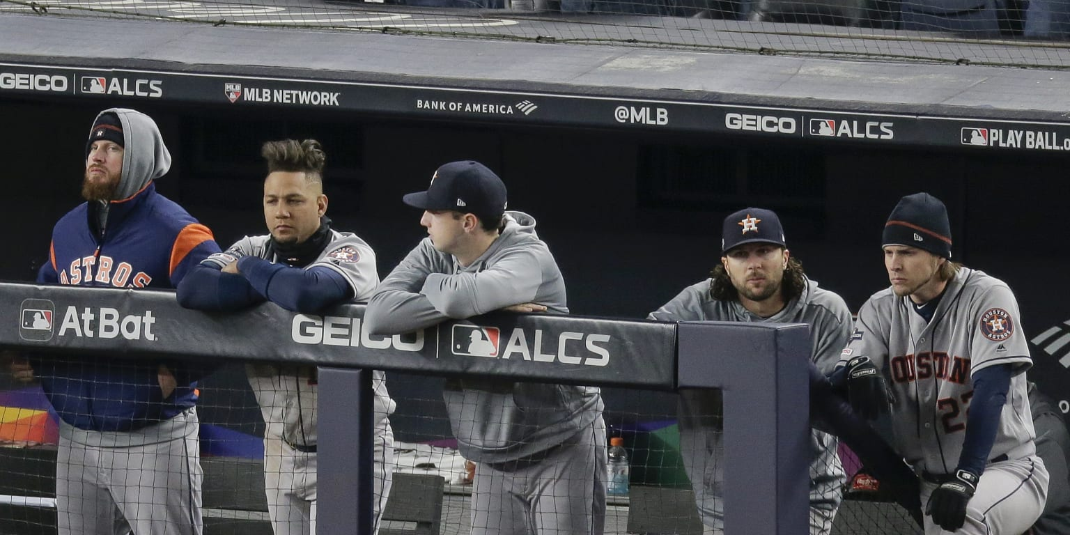 Astros now must 'take care of business at home'