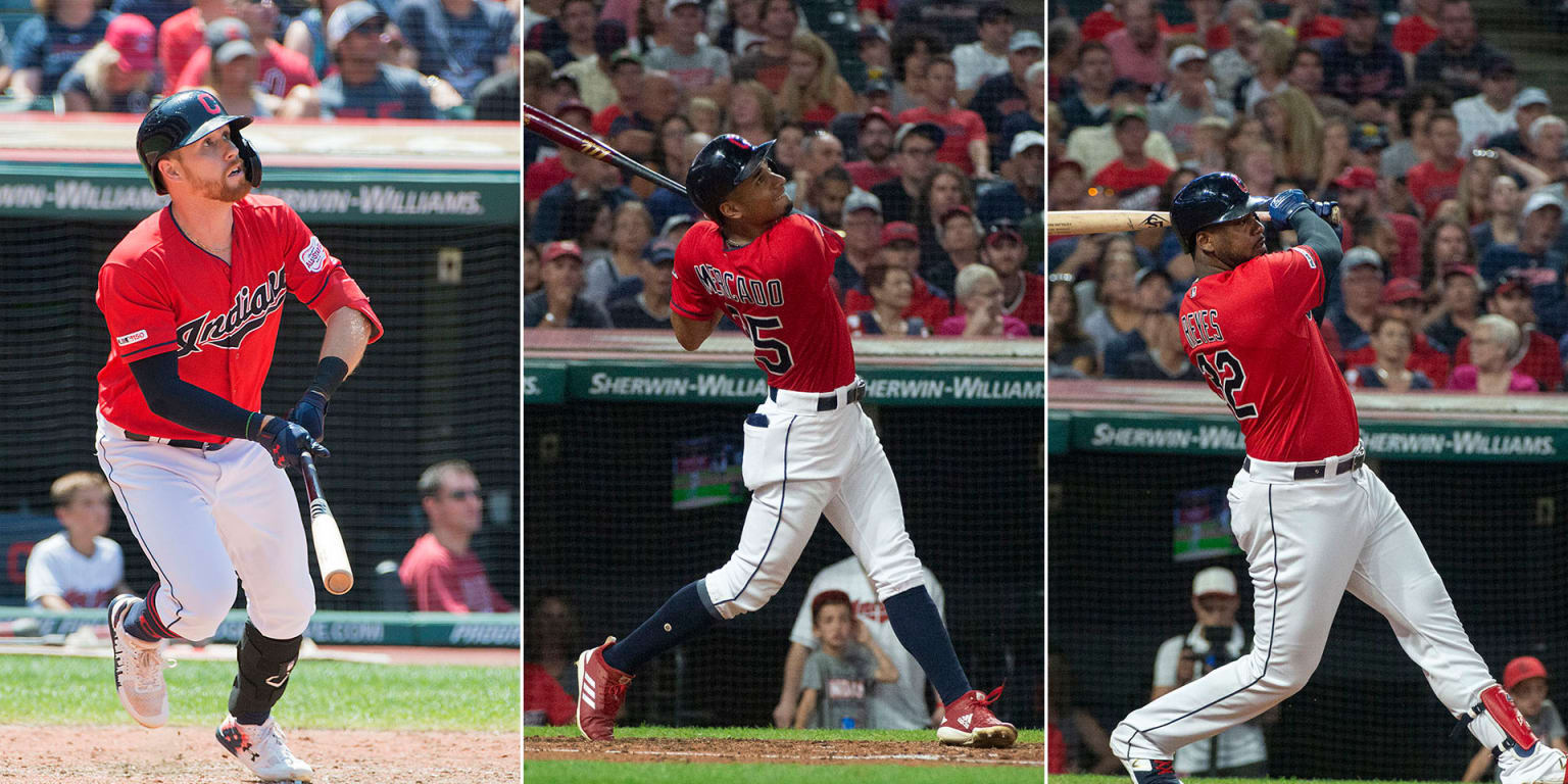 Francona sets goals for glut of outfielders