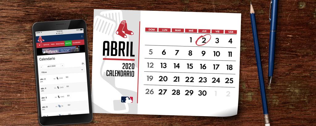 Seria Calendario 2020.Los Red Sox De Boston Lasmayores Com