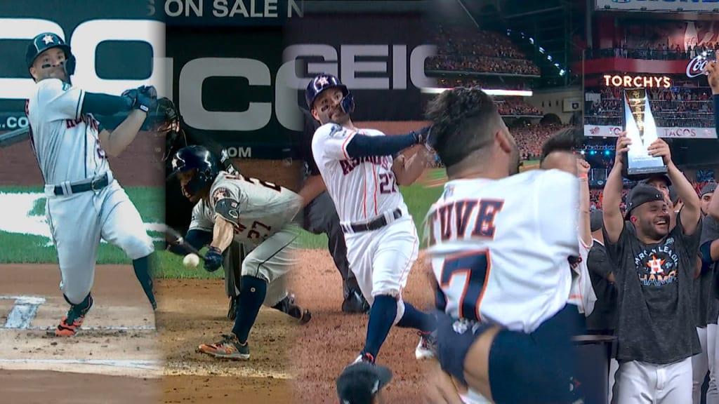 Altuve's ALCS lifts Astros to WS
