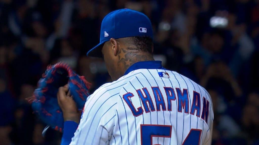 Chapman consigue rescate de 8 outs