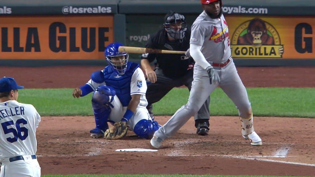 Ozuna ends no-hitter in 7th