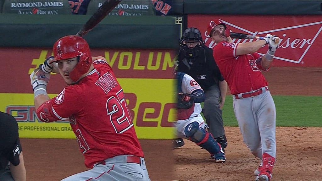 Trout castiga a Astros con 2 jonrones