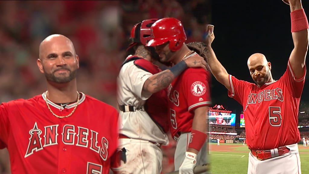 Pujols' final game in St. Louis