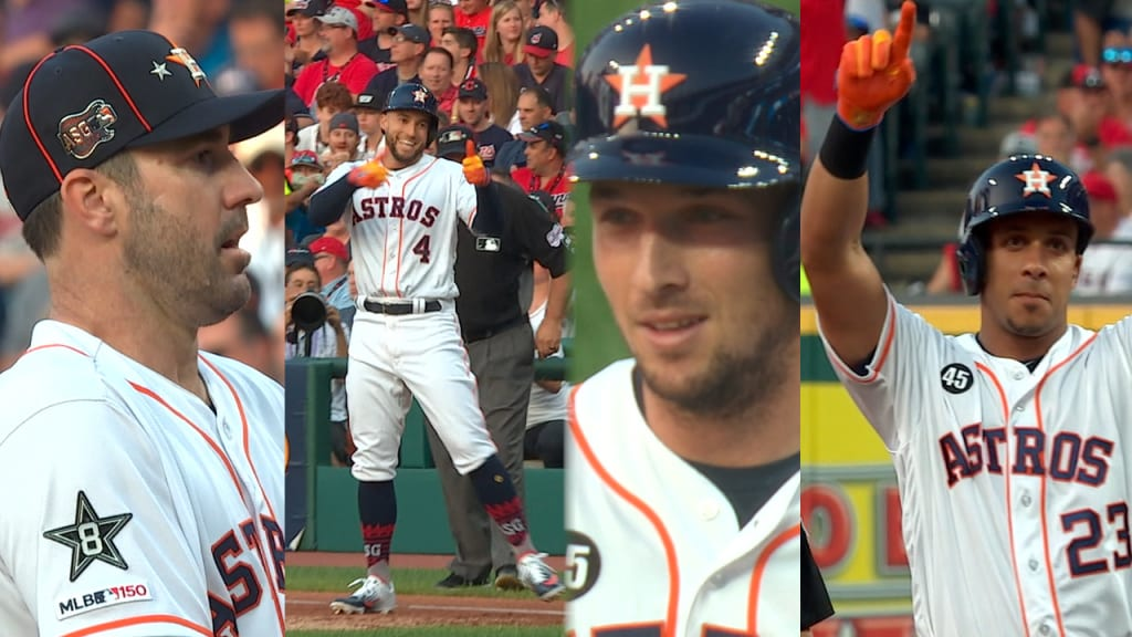 Astros shine in All-Star Game