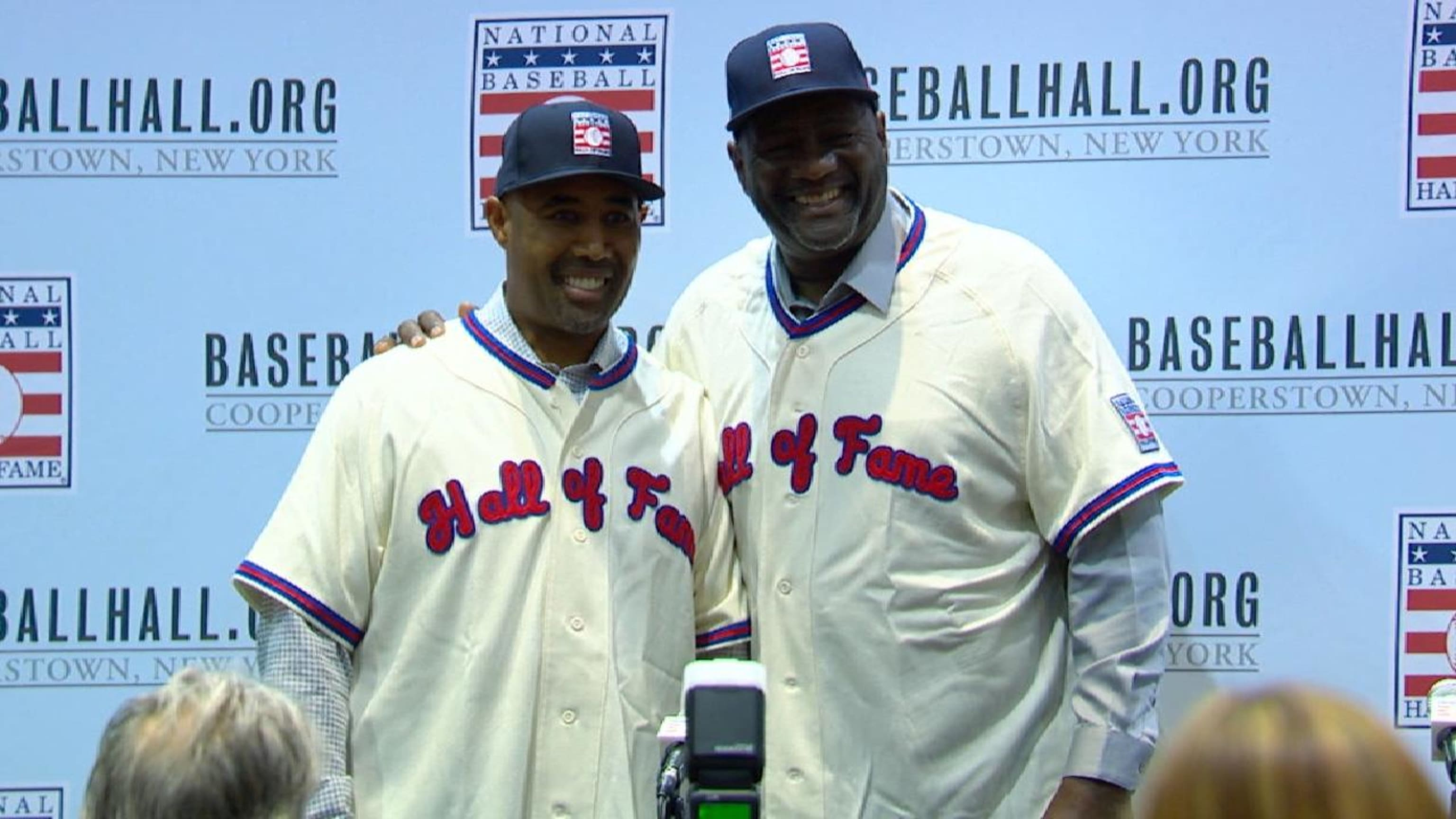 Smith, Baines elected to HOF